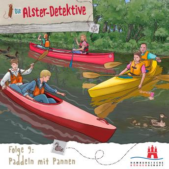 Die Alster-Detektive, Folge 9: Paddeln mit Pannen