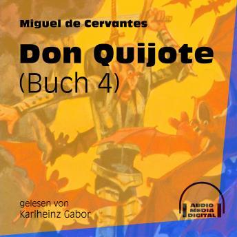 Don Quijote, Buch 4 (Ungekürzt)