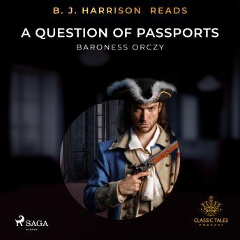 B. J. Harrison Reads A Question of Passports