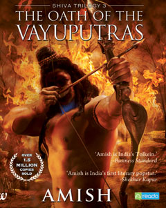 Oath Of The Vayuputras, Amish Tripathi