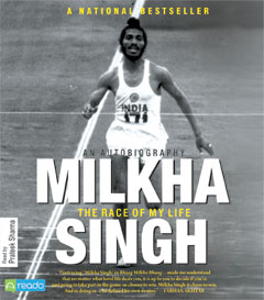 Race Of My Life : An Autobiography, Milkha Singh