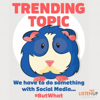 Trending Topic: We Have to do Something With Social Media #But What, Gerrit Heijkoop