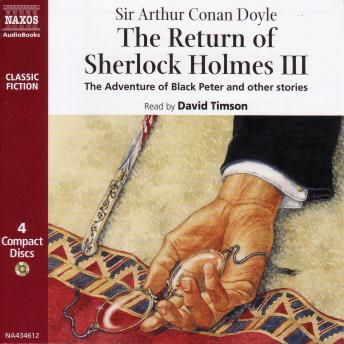 Return of Sherlock Holmes - Volume III, Sir Arthur Conan Doyle