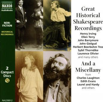 Great Historical Shakespeare Recordings, Various Authors