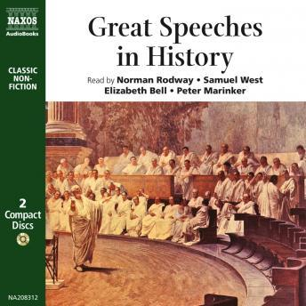 Great Speeches in History, Various Authors