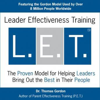 Leader Effectiveness Training, Dr. Thomas Gordon