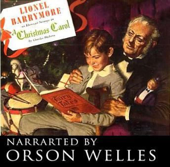 Christmas Carol, Audio book by Orson Welles