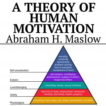 A Theory of Human Motivation