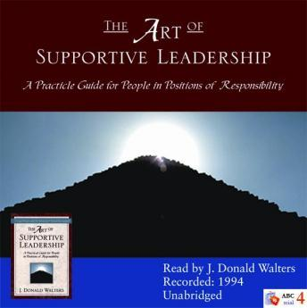 Art of Supportive Leadership sample.