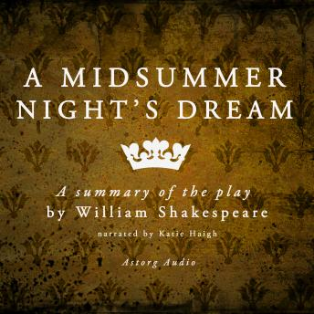A Midsummer Night's Dream is a play by William Shakespeare - summary, William Shakespeare