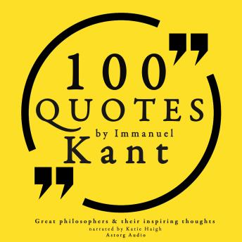 Download 100 quotes by Immanuel Kant by Emmanuel Kant