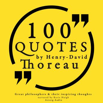 Download 100 quotes by Henry David Thoreau by Henry David Thoreau