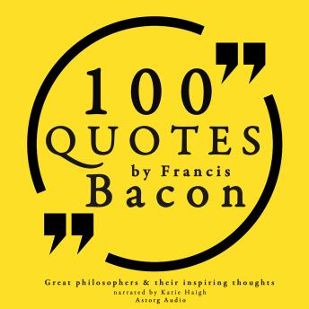 Download 100 quotes by Francis Bacon by Francis Bacon