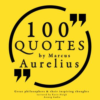 Download 100 quotes by Marcus Aurelius by Marcus Aurelius