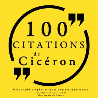 100 citations de Cicéron, Collection 100 Citations