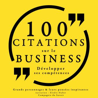 100 citations sur le business