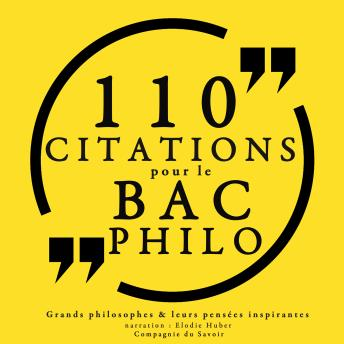 110 citations pour le bac philo