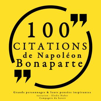 100 citations de Napoléon Bonaparte, Collection 100 Citations