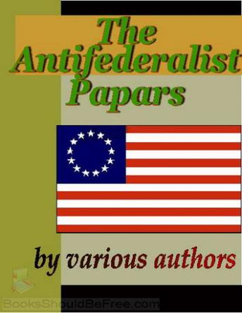 Download Anti-Federalist Papers by Patrick Henry