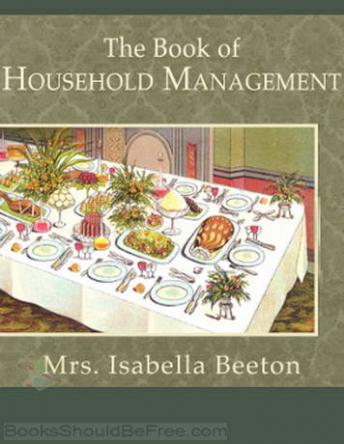 Book of Household Management, Isabella Beeton