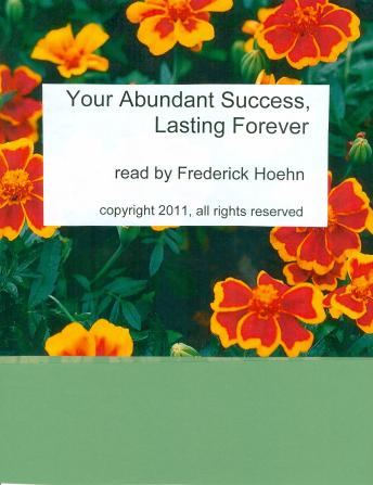Download Your Abundant Success Lasting Forever by Frederick Hoehn