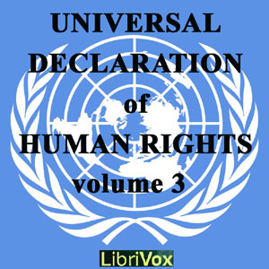 Universal Declaration of Human Rights, Volume 03, Audio book by United Nations