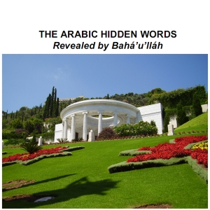 Arabic Hidden Words, Bahá'U'Lláh