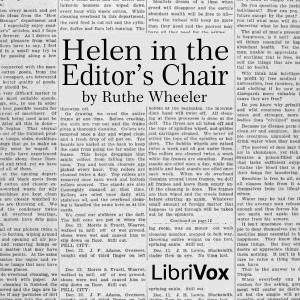 Helen in the Editor's Chair, Ruthe S. Wheeler