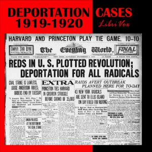 Download Deportation Cases of 1919-1920 by Constantine Panunzio