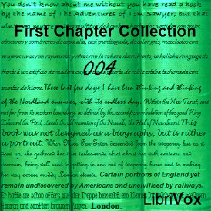First Chapter Collection 004, Various Authors