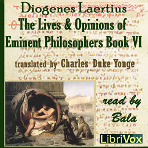 Lives and Opinions of Eminent Philosophers, Book VI, Diogenes Laertius