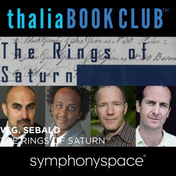 Thalia Book Club: W.G. Sebald's The Rings of Saturn