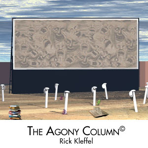 Agony Column Live with Laurie R. King : January 21, 2012, Rick Kleffel