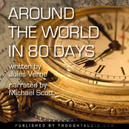 Around the World in 80 Days, Audio book by Jules Verne