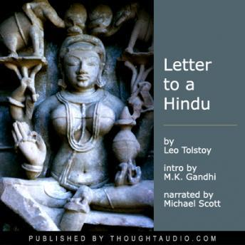 A Letter to the Hindus, Audio book by Leo Tolstoy