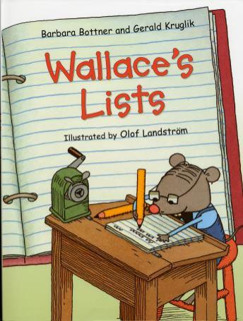 Wallace's Lists, Barbara Bottner