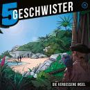 Die vergessene Insel (5 Geschwister 13): Kinder-Hörspiel Audiobook