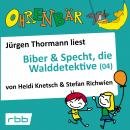 Ohrenbär - eine OHRENBÄR Geschichte, 4, Folge 35: Biber & Specht, die Walddetektive, Teil 4 (Hörbuch Audiobook