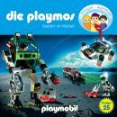 Die Playmos - Das Original Playmobil Hörspiel, Folge 25: Gefahr im Weltall Audiobook