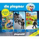Die große Detektiv-Box - Das Original Playmobil Hörspiel, Folgen 46, 66, 73 Audiobook