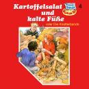 Pizzabande, Folge 4: Kartoffelsalat und kalte Füße (oder die Knatterbande) Audiobook