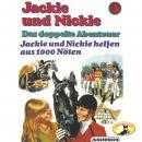Jackie und Nickie - Das doppelte Abenteuer, Original Version, Folge 3: Jackie und Nickie helfen aus  Audiobook