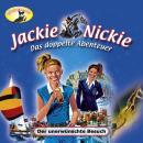 Jackie und Nickie - Das doppelte Abenteuer, Neue Version, Folge 2: Der unerwünschte Besuch Audiobook