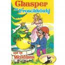 Chasper - Märli nach Gebr. Grimm in Schwizer Dütsch, Chasper bei Froschkönig und im Waldhus Audiobook