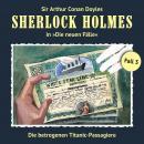 Sherlock Holmes, Die neuen Fälle, Fall 3: Die betrogenen Titanic-Passagiere Audiobook