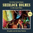Sherlock Holmes, Die neuen Fälle, Fall 4: Die gelbe und die blaue Flamme Audiobook