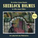 Sherlock Holmes, Die neuen Fälle, Fall 29: Im Labyrinth des Wahnsinns Audiobook