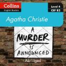 A murder is announced: Level 4 – upper- intermediate (B2) Audiobook