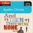 And then there were none: Level 4 – upper- intermediate (B2) Audiobook