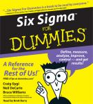 Six Sigma For Dummies, Neil DeCarlo, Bruce Williams